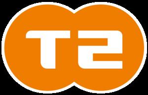 T2 logo | Nova Gorica | Supernova Qlandia